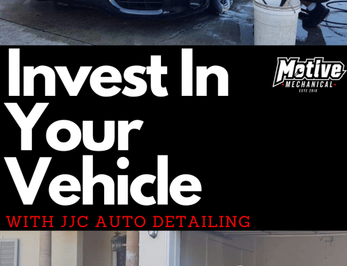 Invest in your Vehicle with JJC Auto Detailing