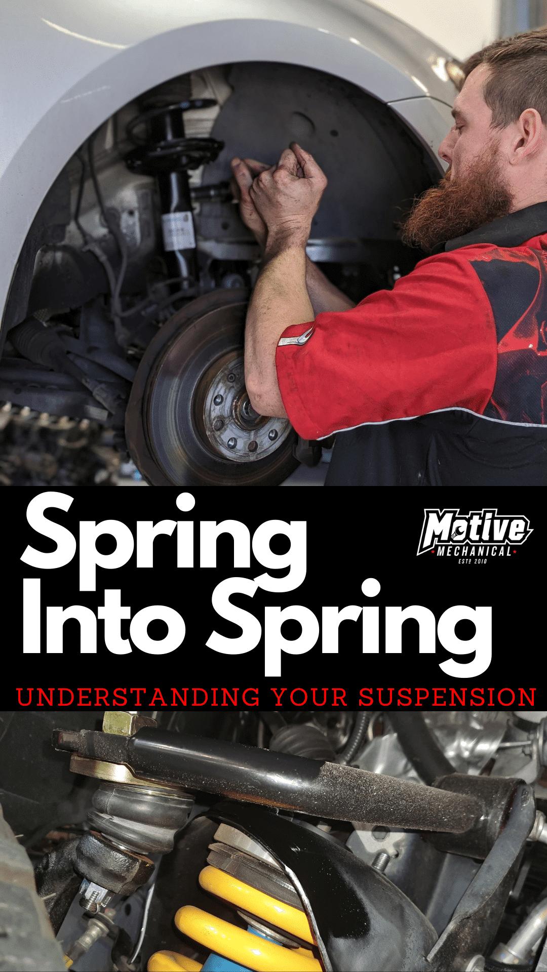 Understanding Your Suspension