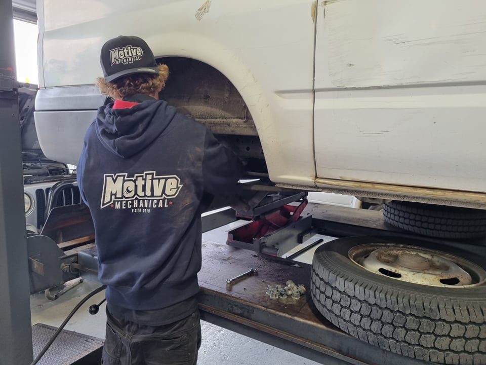 Motive- Mechanical-brakes