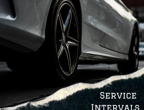 Service Intervals for Vehicles Not Being Driven